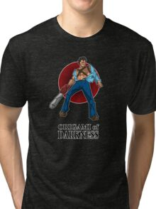 Origami of darkness Tri-blend T-Shirt