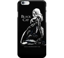 Black Cat in Shadow iPhone Case/Skin