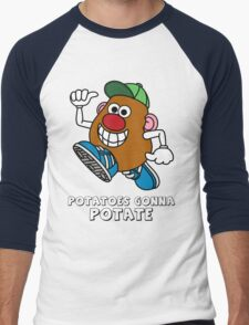 Potatoes Gonna Potate Men's Baseball ¾ T-Shirt