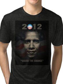 Obama Guard Change Tri-blend T-Shirt