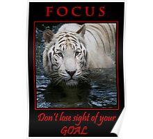 Focus inspirational poster Poster