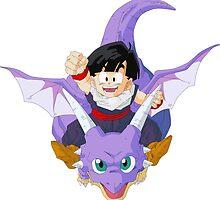 Gohan And Icarus - Dragon Ball Z by AnimeStuff