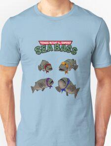 Teenage Mutant Ill-Tempered Sea Bass Unisex T-Shirt