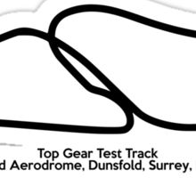 Top Gear Test Track Sticker