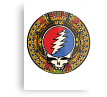 2012 Mayan Steal Your Face - Full Color Metal Print