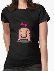 Mr. Saturn Womens Fitted T-Shirt
