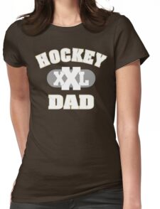 Hockey Dad Womens Fitted T-Shirt