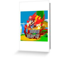 I MAIN MARIO Greeting Card