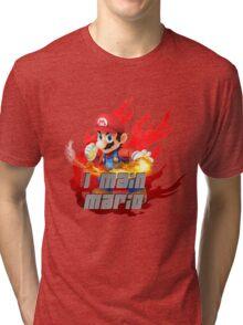 I MAIN MARIO Tri-blend T-Shirt