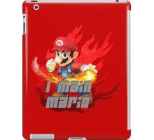 I MAIN MARIO iPad Case/Skin