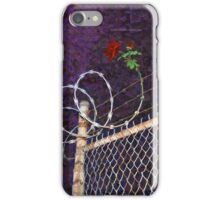 Rose and Thorn iPhone Case/Skin