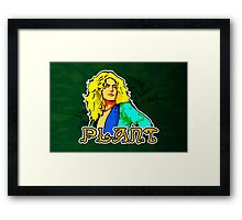 Robert Plant (Print Version) Framed Print