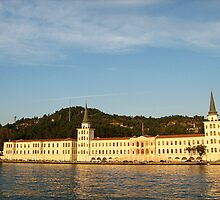 an interesting building on the bosphorus. by Alexandra Brovco