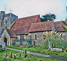 St Michael and All Angels Hartlip by Dave Godden