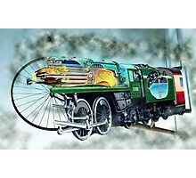Speeding Train. Photographic Print