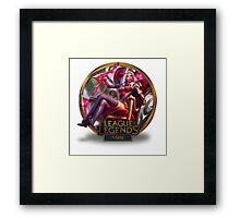 Ashe Heartseeker - League of Legends Framed Print