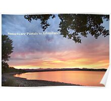 Sunsets are Portals  Poster