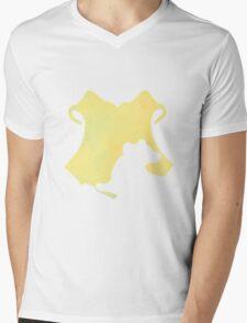 Hufflepuff watercolor Mens V-Neck T-Shirt