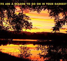Sunsets Are A Reason To Go On by wisdomwords