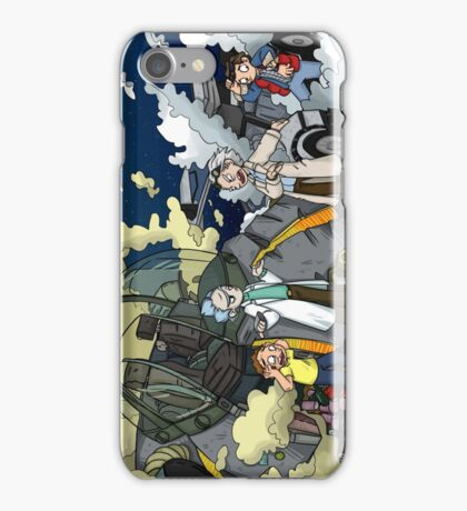 Back to the Future - Rick and Morty iPhone Case/Skin