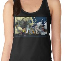 Back to the Future - Rick and Morty Women's Tank Top
