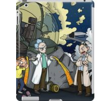 Back to the Future - Rick and Morty iPad Case/Skin