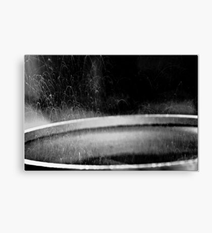 Sousage in the pan Canvas Print
