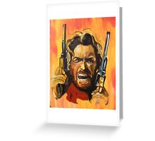 The Outlaw Josey Wales Greeting Card