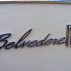 Belvedere II badge by Russell Voigt