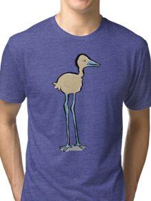 long legged bird Tri-blend T-Shirt