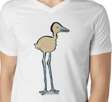 long legged bird Mens V-Neck T-Shirt