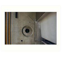 Abstract Concrete Art Print