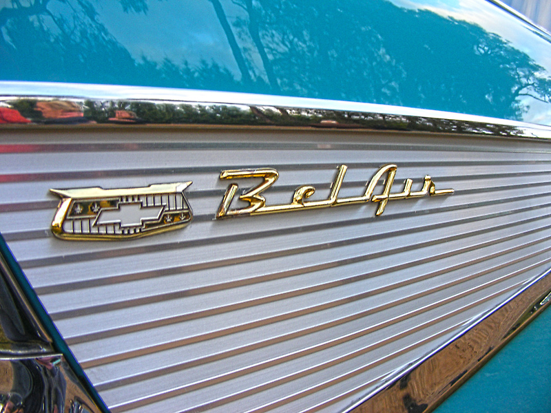 Bel Air (Car) by Russell Voigt