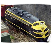 Model rail Poster