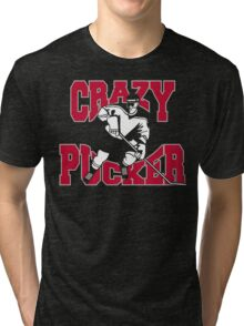 Crazy Hockey Tri-blend T-Shirt