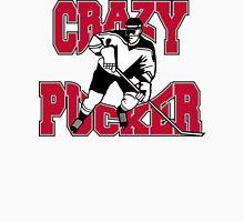 Crazy Hockey Player Unisex T-Shirt