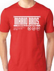 Mario Bros. Plumbing & Pest Control Unisex T-Shirt
