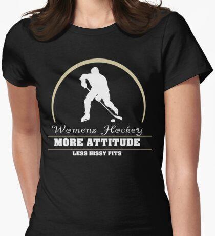 Womens Hockey Womens Fitted T-Shirt
