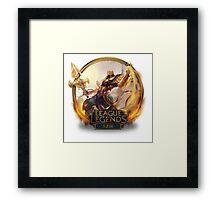 Azir - League of Legends Framed Print