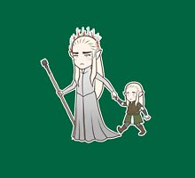 Papa Elf and Baby Leaf T-Shirt