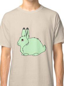 Light Green Arctic Hare Classic T-Shirt