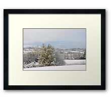 Winter in the hills of Donegal Framed Print