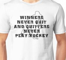 Hockey Quote Unisex T-Shirt
