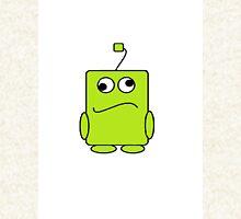 alien blob (green) T-Shirt