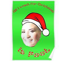 POOT LOVATO MEME Poster
