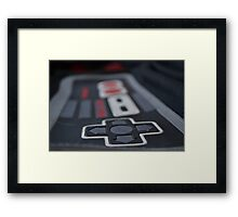 classic gamer Framed Print