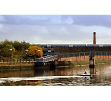 rower Photographic Print
