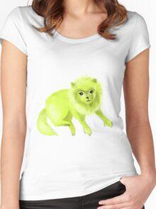 Pomelimenian Women's Fitted Scoop T-Shirt