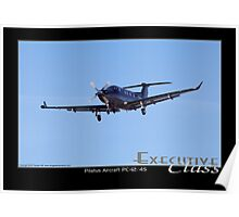 Executive Class Pilatus PC-12 Poster