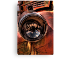 An Eye on the Past Canvas Print
